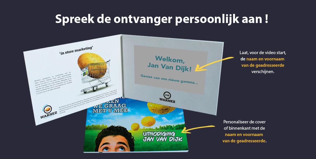 video brochure personalisatie