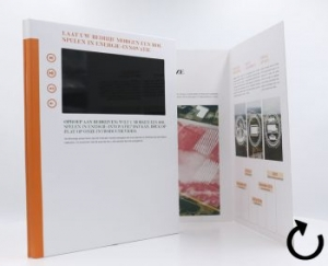 videobrochure soft cover